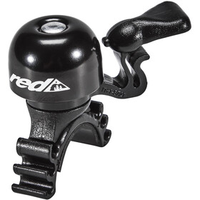 Red Cycling Products Mini Bell Easy Fix, black